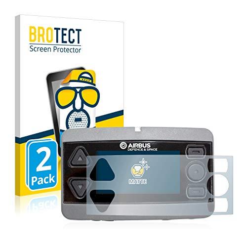 BROTECT 2X Entspiegelungs-Schutzfolie kompatibel mit Airbus P8GR Bildschirmschutz-Folie Matt, Anti-Reflex, Anti-Fingerprint