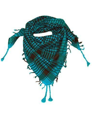 LOVARZI LOVARZI Türkis Blau Palästinenser Tuch - Tucher für junge Männer und Frauen