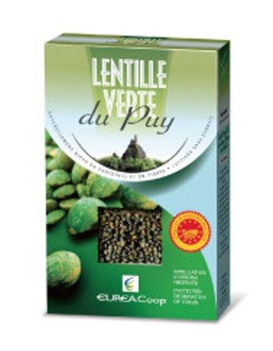 ルピュイ穀物 生協協同組合緑レンズ豆ドライレンテイル 500g