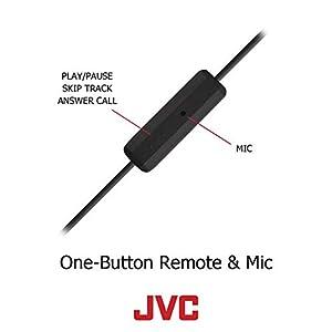 JVC HAEBR80B Sports Clip Headphones (Black)