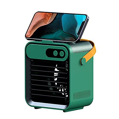 Mini condizionatore d'aria portatile, mini ventilatore di raffreddamento, tavolo da tavolo, super silenzioso, mini condizionatore d'aria per casa, ufficio, camera da letto