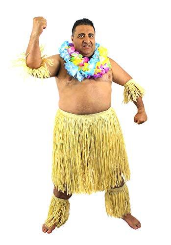 MENS ZULU SET HAWAIIAN FANCY DRE...
