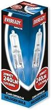 Eveready 20w 12v G4 Dimmable Halogen Capsule Light Bulb