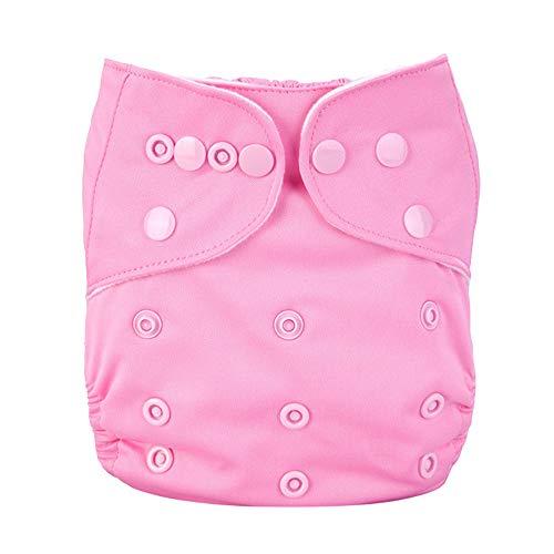MEISI Pañal de tela, pañal lavable para bebés, pañales para nadar para bebés, pantalones para pañales, fuerte absorción con transpirabilidad, a prueba de agua y sin fugas, pañal perfecto para bebés