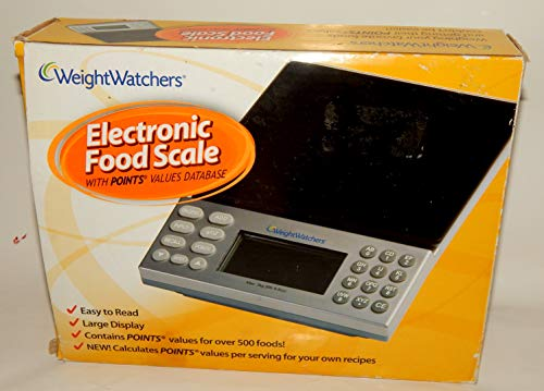 Weight Watchers Electronic Food Scale w/ Points Values Database