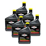 Briggs and Stratton 100005 SAE 30W Engine Oil 18oz (Pack of 6)