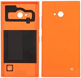 Battery case Jrc Battery Back Cover for Nokia Lumia 730(Black) Mobile phone accessories (Color : Orange)
