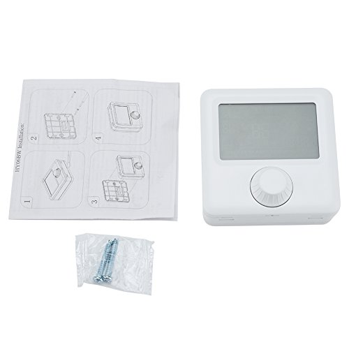 HYO6BW Pantalla LCD Digital Calefacción Programable Termostato Controlador de Temperatura