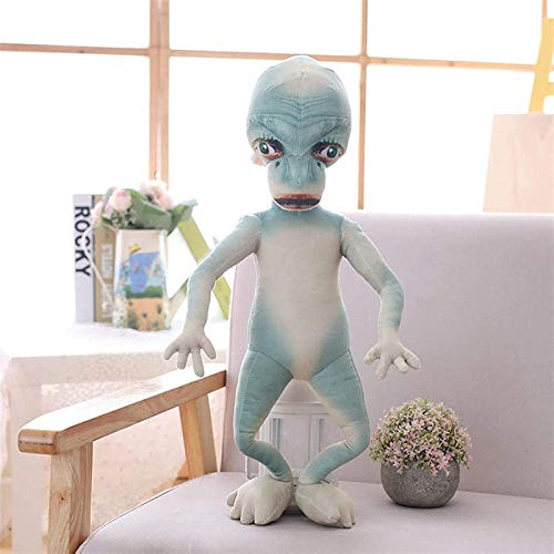 Cfxqvw La muñeca alienígena simula el Peluche alienígena, Almohada Grande, muñeca difícil, Divertido Regalo de cumpleaños para Hombres y Mujeres de 80 cm