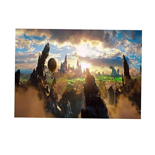MagiDeal Aquarium Hintergrund Aufkleber Aquarium Wallpaper Unterwasser Dekor - Feld, 61 x 30 cm