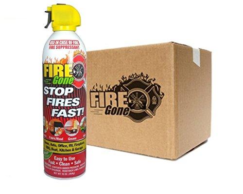 Fire Gone Max-Pro Fire Suppressants - 16oz Units (Case of 12)