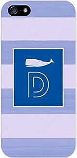 IPH5 CASE Stripes, Blue Whale- D