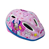 Disney Minnie Mouse - Casco Easy para niña, Rosa, M (52-56 cm)