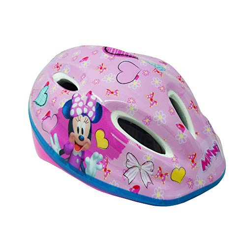 Disney Mädchen Minnie Mouse Fahrradhelm, Rosa, M(52-56 cm)