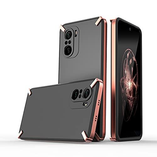 KINSHU® X-Four Bumper Case Straight Edge 3-in-1 Phone Case for Mi 11x...