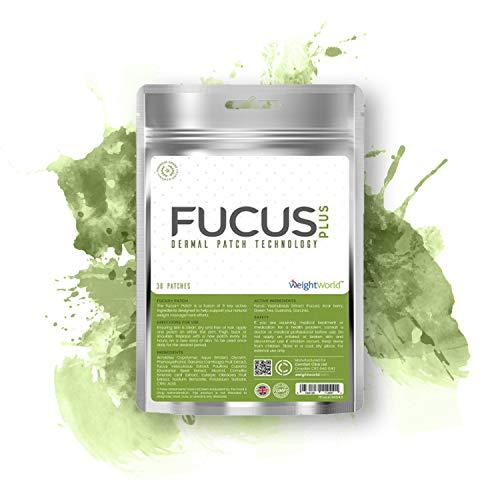 Fucus + Cerotti - Cerotti Dimagranti, Formula Delicata, Supporto alla Dieta, Aiuta a Gestire il Peso, Garcinia Cambogia per Ridurre l'Appetito, Caffeina per Metabolismo - 30 Cerotti - WeightWorld