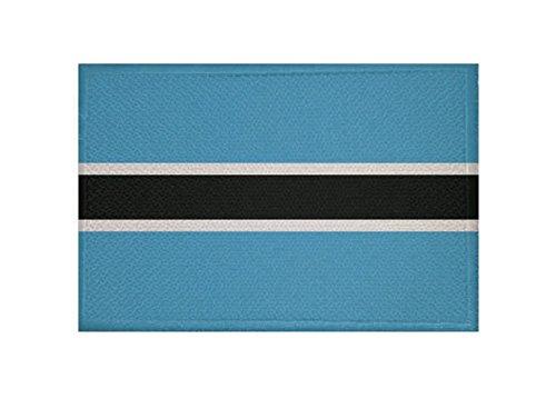 U24 Aufnäher Botswana Fahne Flagge Aufbügler Patch 9 x 6 cm