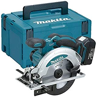 Makita DSS610RTJ 18V Li-ion LXT 165mm Circular Saw Complete with 2 x 5.0 Ah Batteries and Charger suppliled in a Makpac Case