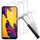 Snnisttek [Lot de 3 Protection écran Verre Trempé Huawei P20 Lite, Dureté 9H, Protection Contre...