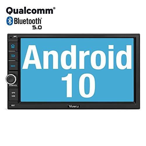 günstig Vanku Android 10 Autoradio mit Navi kompatibel mit Qualcomm Bluetooth 5.0 DAB + WiFi 4G… Vergleich im Deutschland