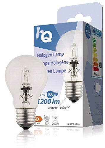 HQ HQHE27CLAS005 Ampoules halogènes, E27