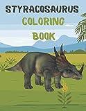 Styracosaurus Coloring Book