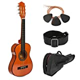 30' Sunset Wood Guitar with Case and Accessories for Kids/Girls/Boys/Beginners