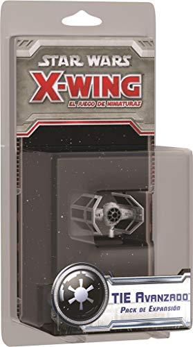 Fantasy Flight Games- Star Wars X-Wing: Tie Avanzado - Español (FFSWX05)