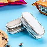 UPEOR Handheld Heat Sealers, Mini Bag Sealer,2 in 1 Heat Sealer and Cutter Handheld Portable Bag Resealer Sealer,Handheld Heat Vacuum Sealers,Fresh Bag Sealer(1 PCS Battery Not Included)