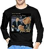 Photo de EYSKJ T- T-Shirt Manches Longues Homme Nicky Jam Sports Men's Tops Long Sleeve T-Shirt Black