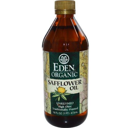 Eden Foods Organic Safflower Oil, Unrefined, 16 fl oz (473 ml)