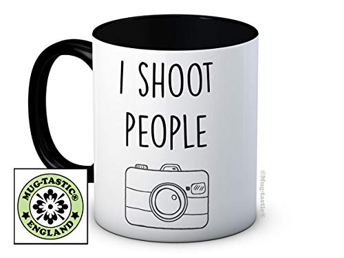 I Shoot People - Photographe - de haute qualité tasse à thé café