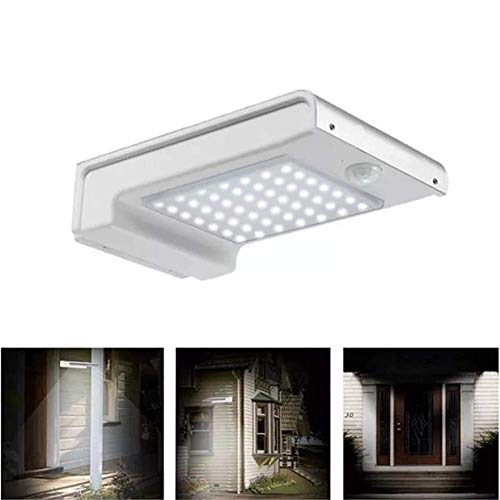 49 LED solar del sensor de movimiento Powered lámpara de pared ligera impermeable al aire libre del jardín Seguridad 2W luz al aire libre luz de seguridad, conveniente for el jardín, F ZGHE
