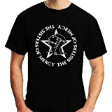 AN The Sisters of Mercy T-Shirt Loose Short Sleeve Black Men T Shirt