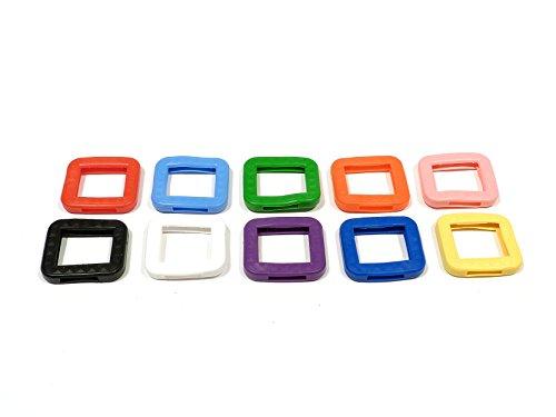 REMA Schlüsselkappen für eckige Schlüssel 25 mm x 25 mm Einzeln und als 10er Sets (10 Kappen, 10