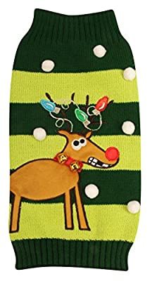 New York Dog Ugly Holiday Sweater for Pets