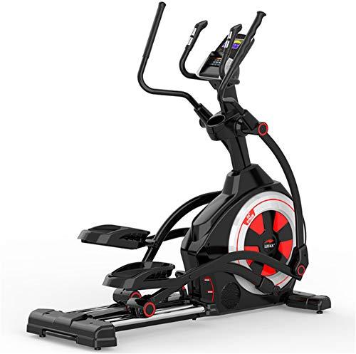 YQ&TL Bicicleta Elíptica para casa Multifuncional Máquina, máquina de Paseo Espacial, Gimnasio, Control electromagnético Comercial, Deportes domésticos de Interior, Instrumento elíptico para Caminar