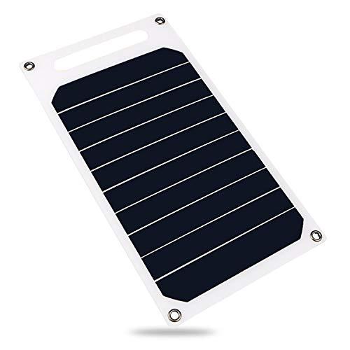 Decdeal 6W 5V Solarpanel mit USB Port Wasserdicht Geeignet für Alle Arten Von Mobiltelefonen und Digitalen Geräten