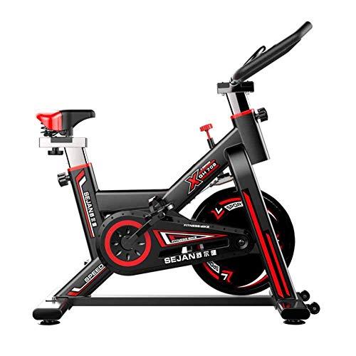 SISHUINIANHUA Heimtrainer Spinning Bike Mute Indoor Fahrrad Übung Fitnessgeräte