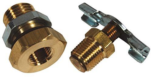 2pcs VIS 105B Brass Replacement Control Needle Valve 1//4 Female NPT
