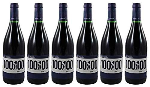 6 Flaschen 100x100 Syrah Organic (Bio) Jumilla D.O. 2019 Asensio Carcelén im Sparpack, trockener spanischer Rotwein aus Murcia