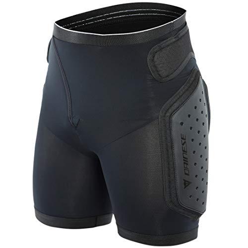 Dainese Herren Action Shorts Evo Ski Protektor, Black/White, M