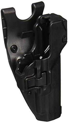 BlackhawkHolster de Fonction SERPA Niveau 3 - Verrouillage Automatique - Finition Mate, Homme, 44H113BK-R, Noir, Size 13 - Glock 20/21/21SF (Not 1913 Rail)/37/38