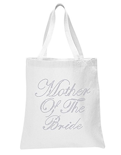 White Mother Of The Bride Luxury Rhinestone Crystal Bride Tote bag Bridal Shower wedding party gift bag by CrystalsRus