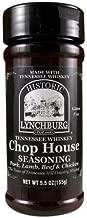 Historic Lynchburg Tennessee Whiskey Chop House Seasoning 5.5 Oz. Jar (2 Pack)