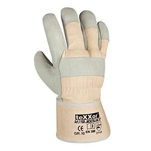 """48 Paar - Rindvollleder-Handschuhe, """"MONTBLANC-III"""" - teXXor® - 1168 - Größe 10"""