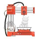 Impresora 3D totalmente abierta de código con superficie de construcción extraíble para impresoras de bricolaje adecuadas para adolescentes volumen de construcción 100 x 100 x 100 mm (k 7)