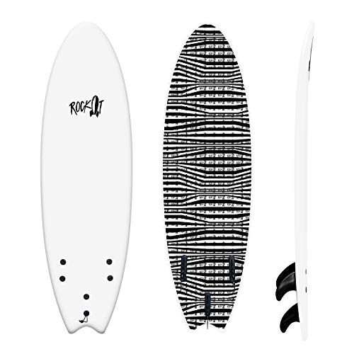"""Rock-It 5'8"""" Albert Surfboard"""