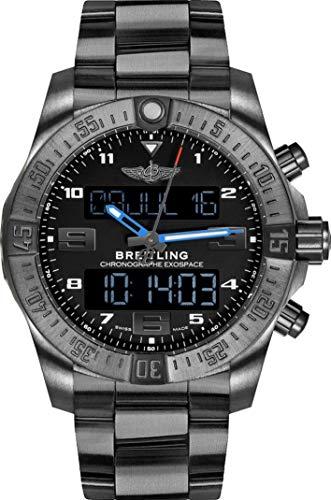 Breitling Exospace B55 - Pulsera de Titanio, Color Negro