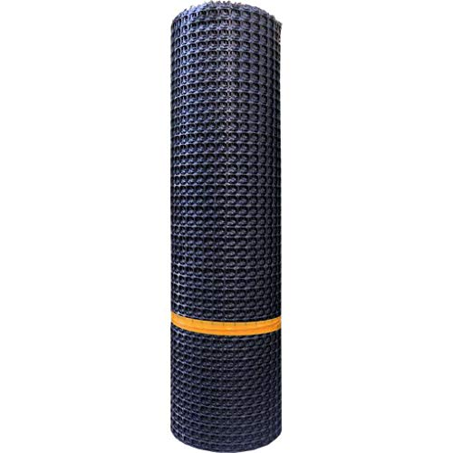 FAEIO Multifunctional Black Safety Net/Culture Net Polypropylene Material Strong and Sturdy Strong Bearing Capacity Uniform Pore Size Protection Net (0.550m)